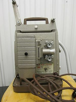 Vintage Bell And Howell Film Projector Prop