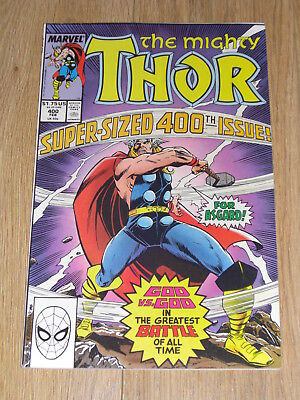 MARVEL COMICS ... The MIGHTY THOR ... Super-Sized #400 issue ... 1989 High Grade