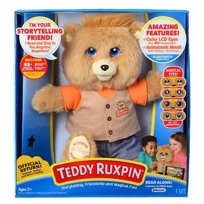 Teddy Ruxpin - 2017 Hot Christmas Gift For Kids Magical Bear Bluetooth Version!!