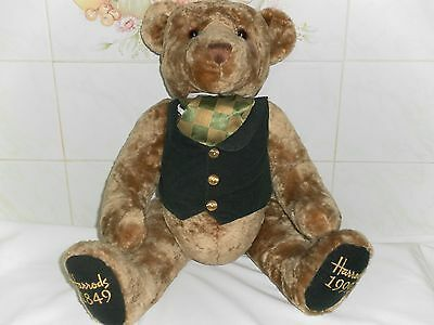 Harrods Teddy Bear Foot Dated 1849 - 1999  Approx 19 Inches Standing