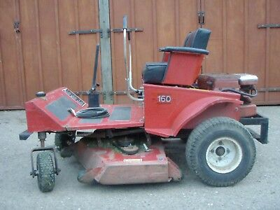 "Zero Turn Ride Sit On Rough Cut Paddock Lawn Mower 48"" Compact Tractor Size Deck"