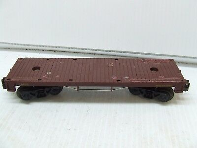 Lionel Post War  6405 Flat Car H