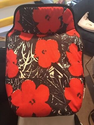 Limited Edition Andy Warhol Poppy Apron Bassinet Cover Fabric Bugaboo Donkey