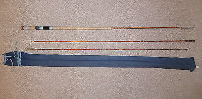 Vintage 12ft Split Cane 3 Piece Rod Firecrest by Forshaw's of Liverpool Free P&P