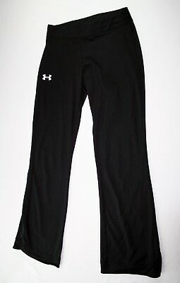 Girl's Under Armour Athletic Yoga Pants Size M Black