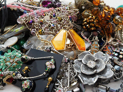 14 lbs Jewelry Repair Lot for Wear, Craft & Redesign
