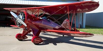 1930 WACO QCF Fixed Wing Single Engine Biplane