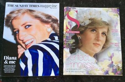 Sunday Times And Express Magazines 20/8/17 Morton On Princess Diana
