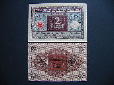 GERMANY  2 Mark 1.3.1920  Ros. 65a  (P60)  UNC