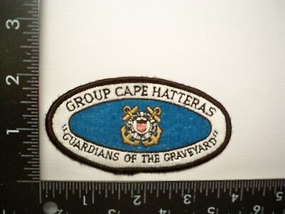 Federal Coast Guard USCG Group Cape Hatteras, NC Patch USN Soviet Sub Monitoring