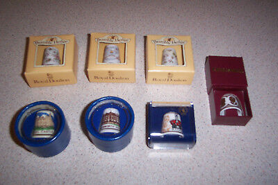 Thimbles Various - 7 Off, Mint.