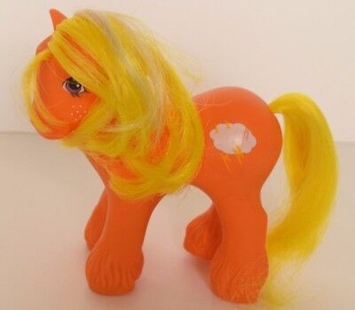 My Little Pony Mountain Boy Pony Lightning G1