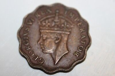 Cyprus 1 Piastre 1945 Coin