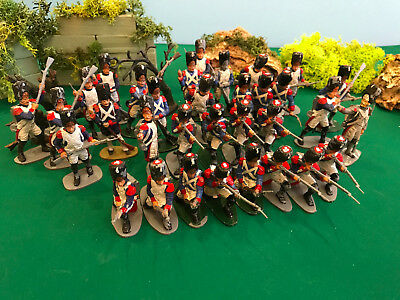 Hand Painted - Job Lot -AIRFIX -1/32 French Grenadiers Imperial Guard - 1815