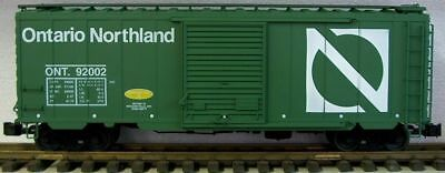 AML/Accucraft B1037 ONT NOR PS1 Box Car NEW Metal wheels G Scale