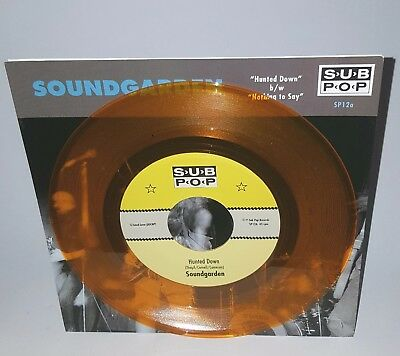 Soundgarden Hunted Down Sub Pop SP12a Helmet SubPop Nirvana Mudhoney Grunge