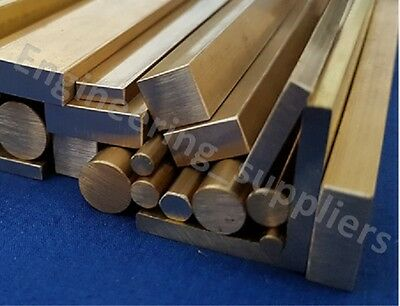 Metal Brass Round Square Flat Bar, Rod, Wire, Angle & Tube 100mm to 600mm long