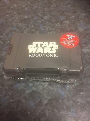 Star Wars Rogue One ~ Mini Collectors Case ~ Inc 39 Cards + Limited Edition