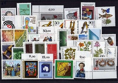 Germany 1981 Complete Year Mnh