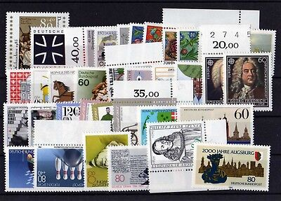 Germany 1985 Complete Year Mnh