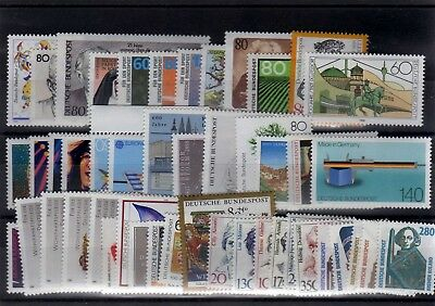 Germany 1988 Complete Year Mnh