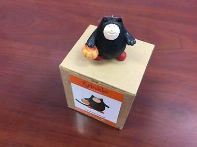 Dept. 56 Krinkles Patience Brewster Trick or Treat Little Cat Halloween Ornament