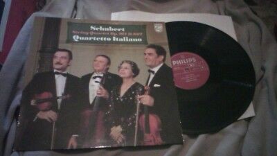 String Quartetto Italiano Red Philips 9500 409