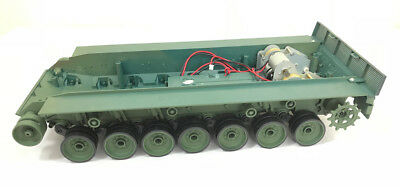 heng long leopard 2A6  rc radio remote control tank 1/16 bottom hull Chassis UK
