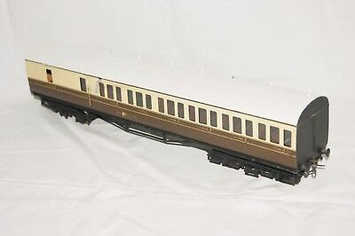 O gauge 7mm KITBUILT Suburban B set GWR Brake Coach Brown Cream