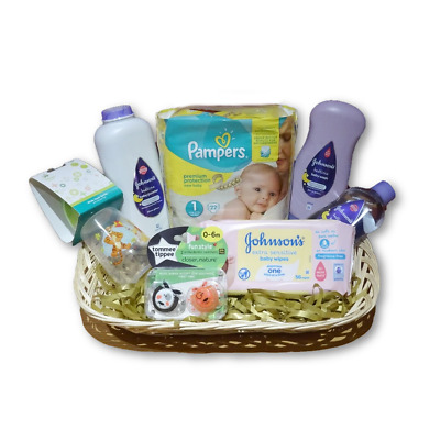 BABY STARTER KIT Gift Hamper | PERFECT For New Mums! | FAST & FREE Delivery!