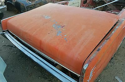 "1966-1967 Lincoln Convertible Trunk Lid ""No Rust """