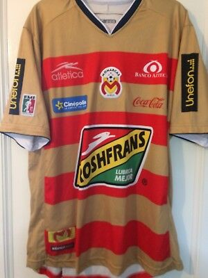 Monarcs Morelia Mexican Football Shirt Home Jersey Athletica Brand