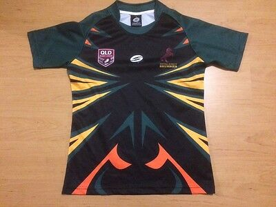 rugby jersey qld central Burnett brumbies size 14 number 16