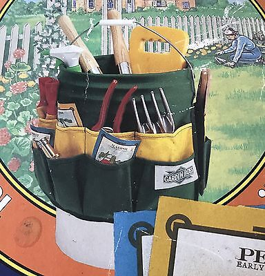 Garden Home 5 gal. Bucket Tool Organizer Caddy Apron, 27 Pockets! (16 out11 in)