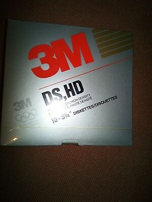 3M 5.25 inch DS, HD Double Sided High Density Floppy Disks (Free P&P)