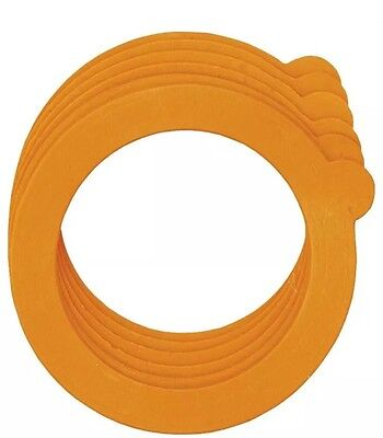 1 JAR SEALING RING KITCHEN STORAGE PRESERVE JARS RUBBER SEAL 9.5cm