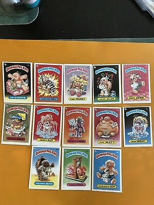 Garbage Pail Kids UK 1st Series Lot Of 13 Cards Ex-NM Condition 1985
