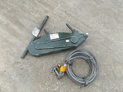 TIRFOR T35 CW/ROPE, Tireur de câble, LandRover,inc delivery and VAT Mint