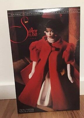 Silken Flame (Brunette) 1993 Barbie Doll Porcelain NO ORG SHIPPER