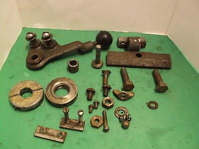 Craftsman 109 Metal Lathe Misc. Parts Gibs, Guide, Screws, Lever and More