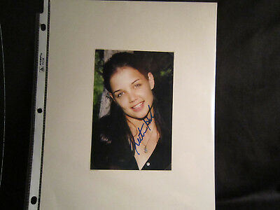 Katie Holmes From Dawson's Creek-Very Nice 4x6 Display-From My Collection