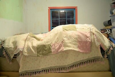 GLENNA JEAN Made for Life CRIB BEDDING ~ SKIRT with COMFORTER QUILT Very Nice