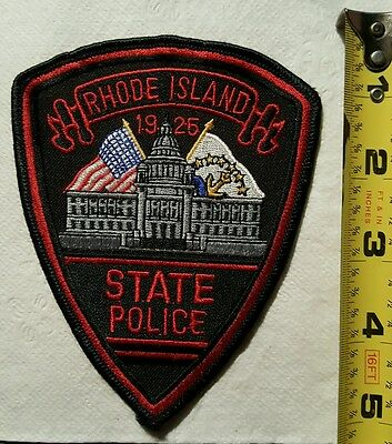 Rhode Island State Police Vintage Unused Patch