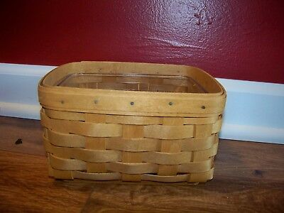 Longaberger 2009 File Card Basket And Protector