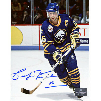 Pat LaFontaine Buffalo Sabres Signed 8X10 Photo