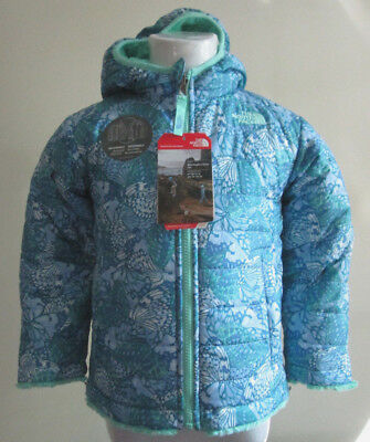 NWT The North Face Toddler Girls' Reversible Mossbud Swirl Jacket