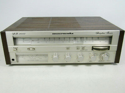 Marantz Vintage Stereophonic Receiver 2000 Radio Stereo Wooden Casing