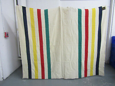 Early's Whitney 4 Point Vintage Wool Blanket Made in England Pure Wool