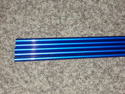 """5 Rod Building Wrapping Blue colored 7'6"""" M/H Fast 12-25# 1pc fishing rod blank"""