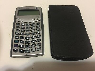 HP 33s Scientific Calculator- With Black Case/Holder- Works GREAT! A+ Condition!